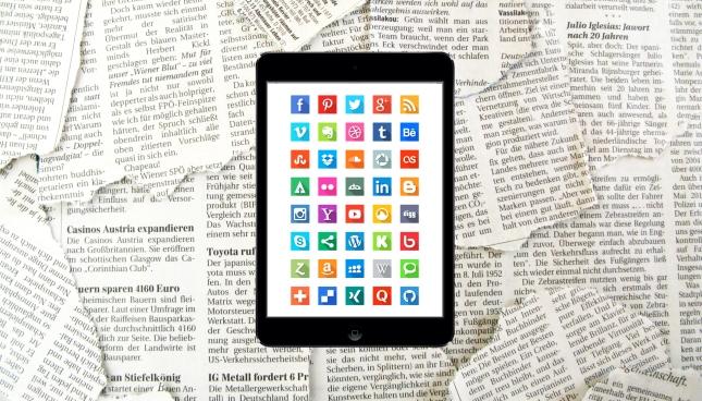 Ipad y periódicos